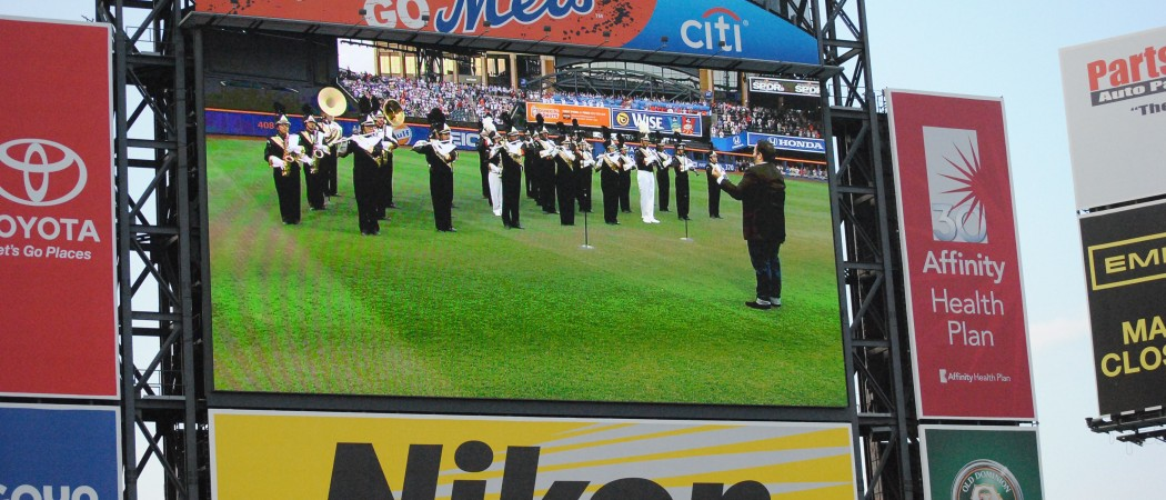 Performing the National Anthem at Citi Field